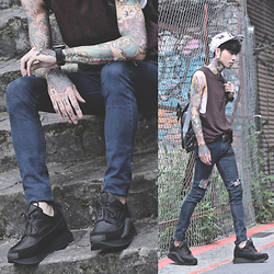 IVAN Chang - Underground Shoes, Topman Top - 300515 TODAY STYLE