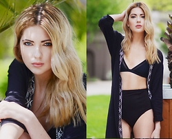 Ebba Zingmark - Forever 21 Kimono, Forever 21 Bikini - //AND ALWAYS GET AWAY