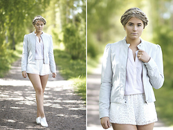 Fanny Lindblad - H&M Jacket, H&M Shorts - Braid