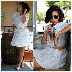 Rocksana Salcedo -  - Easy Style With A Linen Summer Dress
