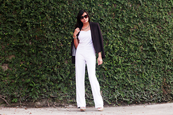 Adi Amor - Topshop Sunnies, Bershka Blazer - THE JUMPSUIT FOR ALL SEASONS