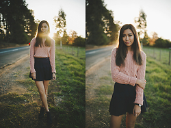 Jody Nguyen - American Apparel Sweater - Golden Hour