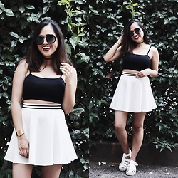 Fae Maaliw - Forever 21 Top, Bershka Skirt, Subdued Sandals, Casio Watch - 199X