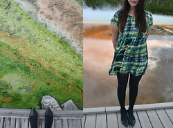 Morgan Hilliard - Forever 21 Dress, Forever 21 Shoes - Y e l l o w s t o n e