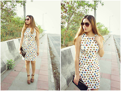 Pooja Mittal - Waist Cutout Kitty Dress - Street Style:Limeroad Kitty Summer Dress