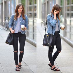 Barbora Ondrackova - Birkenstock Sandals - DENIM MOOD
