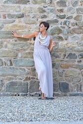 Annachiara S. - Sheinside Dress, Happiness Boutique Necklace - Soft.