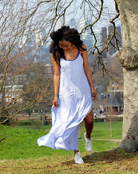 Abi Ogun - New Look Dress - Summer in the Park