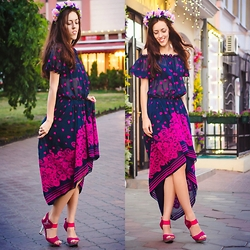 Veronica V - Myberry Dress - A magical evening