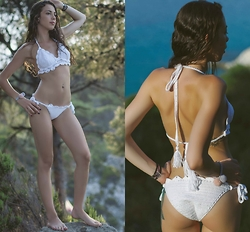Blertina Shabani - Mum's Handmade Sea Shell - Crochet Bathing Suit