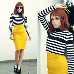 Priscila Diniz - Top, Skirt, Shoes, Wig - The more we do, the more we can do!