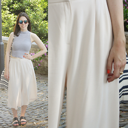Lauriane -  - Pink culottes