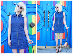 Amy Roiland - Dress - Blue Dreams Baby