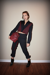 Kyla Curtis - & Other Stories Jacket, Zara Purse, Marc By Jacobs Trousers, H&M Heels - Work or Play?