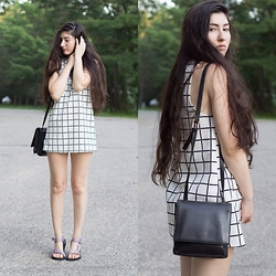 Natalie Callahan - Urban Outfitters Dress, Teva Sandals - Checked Off