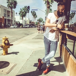 Alex Senning - Dr. Martens, Cheap Monday Denim - Venice Beach