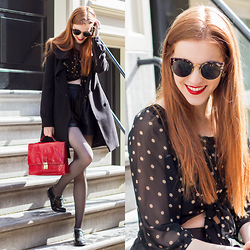 Sonja Vogel - Polette Sunglasses - Dots & Brogues