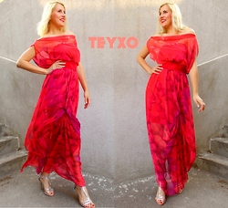 Lara Popa - Teyxo Summer Maxi Dress - Crave You <3