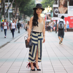 Lily T - Topshop Print Skirt - FASHION WEEK REPORTER