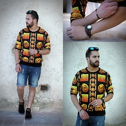 Nabil Asserghine - Choies Sweatshirt, Watch, Bracelet - RISK EVERYTHING!
