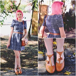 Jess Vieira - Antix Dress, Asianicandy Bag, Rosewhosale Flats - A sunny day