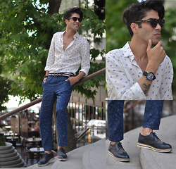 ONUR EROL - United Colors Of Benetton Linen Shirts, United Colors Of Benetton Linen Pants, Kıgılı Dress Shoes, Escape Watches - TODAY IM WEARING...