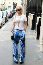 Jenny Burgartz - Acne Studios Shirt, Other Stories Pants, Christian Louboutin Shoes - Paris Coutureweek! #ootd