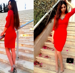 BioFashionista - H&M Dress - That red dress
