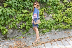 A TRENDY LIFE - The Extreme Collection Chaqueta, Chanel Bolso, Michael Kors Via Sarenza Sandalias - Ethnic Jacket