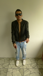 DIEGO GiL - Zara Jacket, Zara Boyfriends - Everything but ordinary!