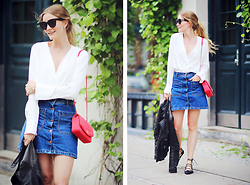 Christina Dueholm -  - Red, white & denim