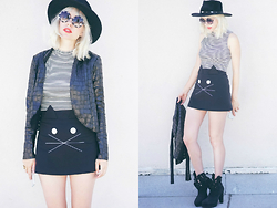 Amy Roiland - Angl Jacket, Angl Top - Cats Meow //