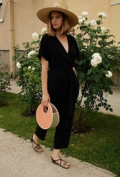 Tijana Kosic - Zara Jumpsuit, Marc By Jacobs Hand Bag, Bronx Sandals - Live your fairytale!