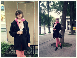 Alexandra Sh - Zara Cape - Shades of pink