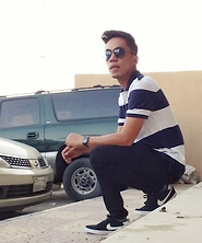 Ahmad Talon - Nike Sneakers, Giordano Poloshirt, Boss Wristwatch, Ray Ban Eyewear - Stripes of Solitude