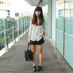 Hazel Tan -  - The Boyfriend Shirt