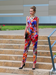 Flexy Fashion -  - COLOURFUL JUMPSUIT