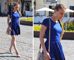 Nadin -  - Little blue dress