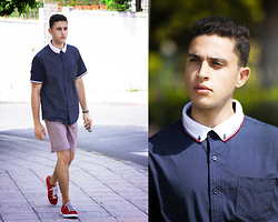 Spoke STYLE - Poloshirt, Short, Sneakers - STEP OUT