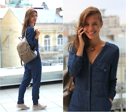 Anna -  - Denim jumpsuits