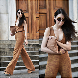 Laura Views - Miu Sunnies, Zara Jumpsuit - Seventies
