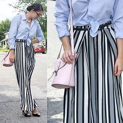 Lauriane -  - Striped pants