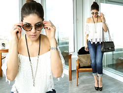 Georgina Moreno - Shopbop, True Religion, Louboutin, Chanel, Miu Miu - Easy Life