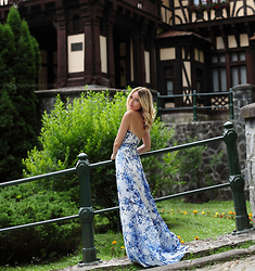 Silvia P. - Lulus Maxi Dress - Fairytale