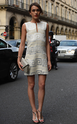 Ella Catliff - Tory Burch Dress, Tory Burch Clutch, Tory Burch Shoes - Haute Couture AW15: Day 3