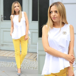 Jecky -  - Yellow Pants and Dalmatian Heels