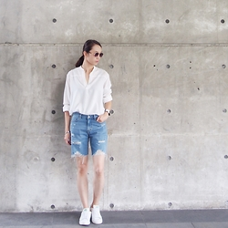 Norelle Weng -  - Ripped Denim