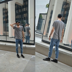 David R. - Topman Jeans, Vans Sneakers - Casual summer look