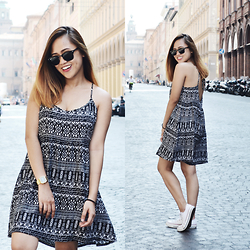 Fae Maaliw - H&M Dress, Converse Chuck Taylor, Ray Ban Clubmaster - Why I Almost Quit Blogging