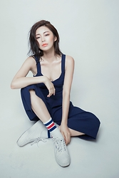 Wiyona Yeung - Zara Jumpsuit, Superga White Shoes, Kisekimakeup Make Up - Korean style